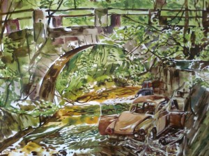 Christopher Haley Simpson, Herbst 1991, 61x84,3 cm