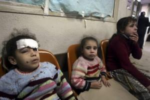 Israels Krieg gegen Gaza 2009 - am meisten leiden die Kinder. Ihre Fotos sah man kaum in westlichen Medien. Quelle: Ärzte ohne Grenzen.