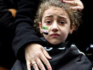 Syrien im Krieg 2012 - am meisten leiden die Kinder. Und westliche Medien werben mit ihren Bildern.